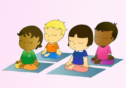 kids-meditating
